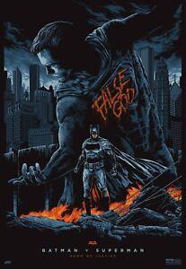 """The Batman v Superman Dawn of Justice Batman Poster 18x12 30x20 36x24"""""""