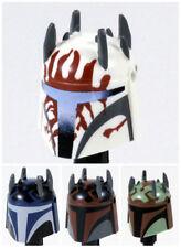 Custom MANDALORIAN Super Commando HELMET for Minifigures -Pick Color!-Star Wars