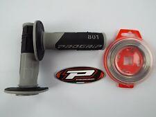 PRO GRIP 801 Black Grips Wire Motocross Enduro SX CRF YZF YZ RMZ RM SXF CR TE