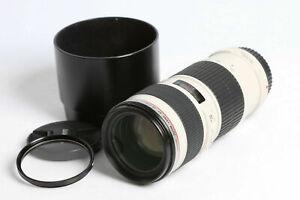 CANON EF 70-200mm f/4 L USM  + 🏠 for R* Mark ii Full Frame +Warranty