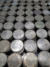 Japanese 100 Yen Silver Coins - Rice, Phoenix, Olympic - 5 Coin mix lot - Japan
