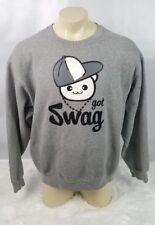 Got Swag Sweatshirt Men Size XL Jerzees Rapper Skater