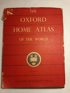 The Oxford Home Atlas Of The World 1960