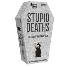 University Games Stupid Deaths Tin Card Game