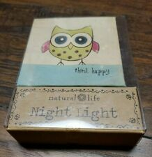 Natural Life Wallet OWL night light - New in Box
