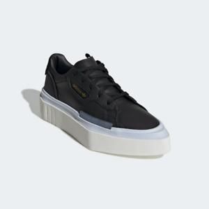 Adidas Women's Hypersleek Casual Sneaker, Core Black/AeroBlue
