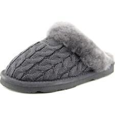 Zapatillas de andar de tacón bajo (menos de 2,5 cm) de color principal gris por casa de mujer