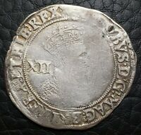 Silver 1604-05 England Great Britain Shilling | James I | Lis MM | S-2646