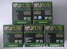 PIAGGIO BEVERLY 350 Sport Touring (de 2011 a 2016) Hiflo Filtro De Aceite (HF182) X 5