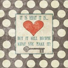 It Is What It Is But It Will Become What You Make It! Jo Moulton Art Print 12x12