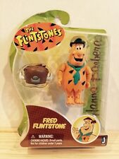 "Jazwares Hanna Barbera The Flintstones Fred 3"" Figure Classic Cartoon Flinstones"