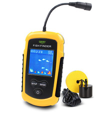 100M Fishfinder Portable Sonar Sensor Capturing Transducer Alarm + LCD Display
