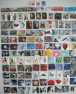 GB stamps kiloware. 120 all different. GB commemoratives 2001-2008 (B73}