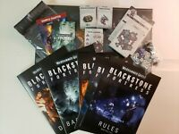 Warhammer Quest: Blackstone Fortress,  Rules Cards Boards Dice, no models, 40k
