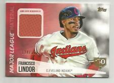 2019 TOPPS 150 YEARS FRANCISCO LINDOR GU JERSEY #124/150  CLEVELAND INDIANS
