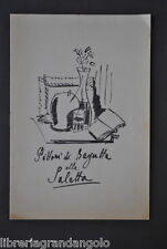Arte Pittori Bagutta Saletta Modena Vellani Marchi Semeghini Vergani 1949