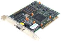 CARDEX S3 TRIO64 ICUVGA-GW407A PCI 2MB 9407-11 Carte Graphique