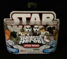 NEW Galactic Heroes Star Wars Luke Han Stormtrooper Disguise 2006