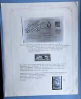 United States 10c Air Blue Lindbergh Postage Stamp And Byrd Antarctic Expedition