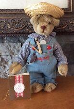 Teddy Bear BY Gorham Beverly Port Gorham Limited Edition Bear Picnic BOY BEAR