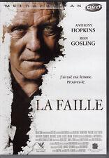 DVD La Faille