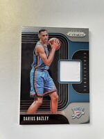 2019-20 Prizm Darius Bazley Rookie Card Sensational Swatches Patch #SS-DBZ