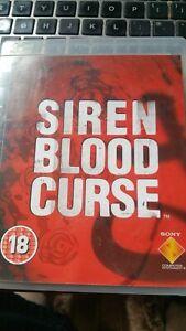 Siren Blood Curse PAL UK PS3 Survival Horror Game ➤ RARE