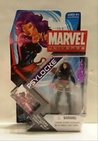 Marvel Universe Psylocke Hasbro 2011 New