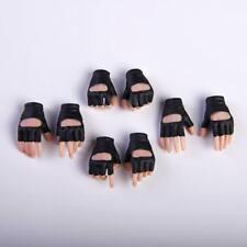 VStoys 1/6 PHICEN/TBleague Gloves Hand Black Grip Gun Hand Model Pale Skin