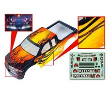 1:5 Redcat Rampage Monster RC Truck Yellow & Black Body Shell With Decals MT XT