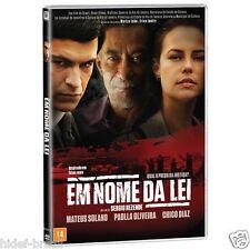 DVD Em Nome da Lei [ Brazil 2016 ] [ Subtitles English ] Region ALL