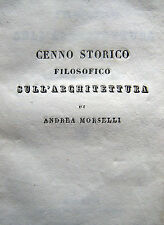 ARCHITETTURA FILOSOFIA