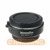 Electronic Auto Focus Lens Mount Adapter Ring for 4/3 Lens to Olympus M4/3