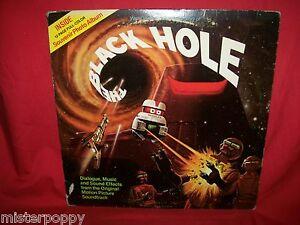 JOHN BARRY Black Hole OST LP + 12 pages Booklet 1979 USA VG+ Walt Disney