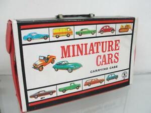 1966 MATTEL HOT WHEELS MINIATURE CAR MATCHBOX CARRYING CASE ORIGINAL TOY