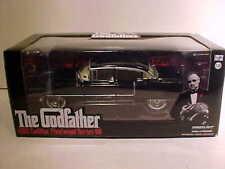 GODFATHER 1955 Cadillac Fleetwood Series 60 Diecast 1:24 Greenlight 8 inch Black