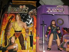 "XENA 10"" & Hercules 10"" Deluxe Edition Poseable Action Figure Set 1995"
