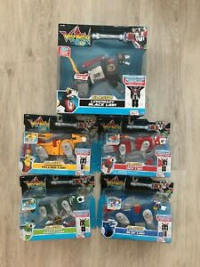 VOLTRON 84 LEGENDARY CLASSIC 5 LIONS SERIES RED YELLOW BLUE GREEN BLACK COMPLETE