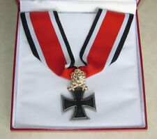 German Knight's Cross of The Iron Cross Medal Ritterkreuz & Gold Oak 1939  WW2