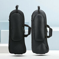 Professional Trumpet Bag Oxford Hard Shell Carrying Case Lightweight Black