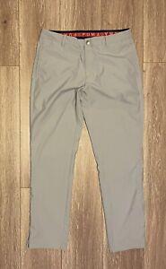 Men's Puma Way 1 Gray Golf Pants Puma SE Size 34 X 32