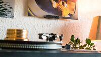 Vinyl Wandhalter 4 Stück! Schallplatten, LP Wandhalterung Display Schallplatten