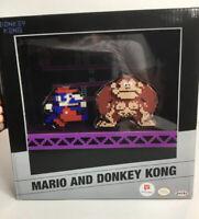 Jakks World of Nintendo 8-Bit Mario And Donkey Kong Walgreens Exclusive