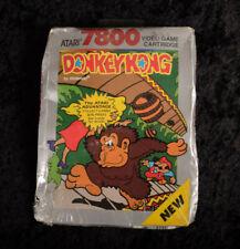 BRAND NEW FACTORY SEALED ATARI 7800 Donkey Kong Video Game Gaming Cartridge