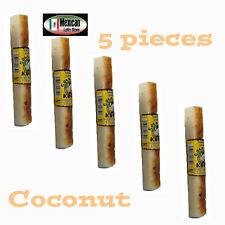 Rollo de Koko Milky coconut candy (Dulce de coco con leche) 5pcs 9oz