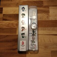 Beijing Olympic Games 2008 Swatch Watch