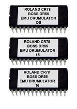 Alesis HR16 / HR16B Soundchip Upgrade Roland CR-78, Boss DR-55 & Emu Drumulator