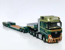 """Mercedes Actros 8x4 low loader+dolly """"Bolk Transport"""" WSI truck models 01-3248"""