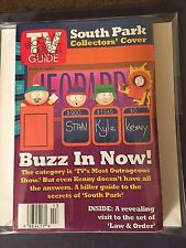 TV Guide March 28 1998 South Park Collectors' Cover  Law & Order Monica Lewinsky