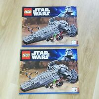 LEGO - INSTRUCTIONS BOOKLET ONLY - Star Wars Darth Maul's Sith Infiltrator -7961